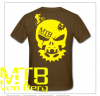 mtb von berg bone head T-shirt Gents1